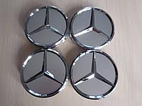 Колпачки заглушки на диски Mercedes-Benz/Мерседес 75/70/15мм. A2204000125