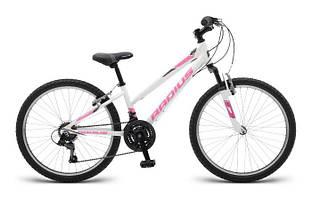 """Велосипед 24"""" Radius Crystal AL рама- 13"""" Gloss White/Gloss Pink/Gloss Charcoal"""