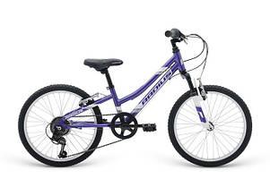 "Велосипед 20"" Radius Ponyridge AL рама- 10.5"" Gloss Purple/Gloss White/Gloss Chrome"