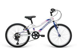 """Велосипед 20"""" Radius Nebula рама- 10.5"""" Gloss Pearl White/Gloss Navy Blue/Gloss Pink"""