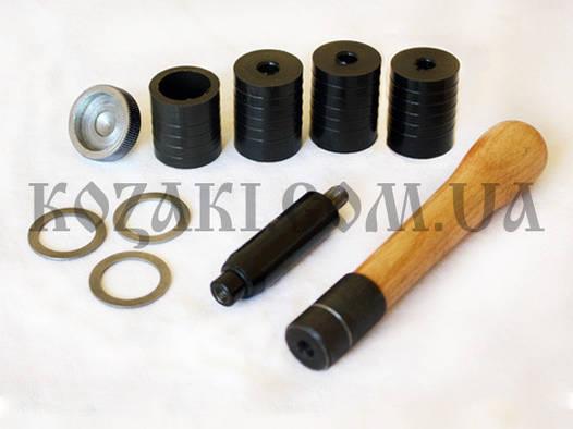 Комплект сменных насадок для УПС-6 пластик (12 калибр) 3 матр; навойник; втулка; 1 кольцо; 2 подст.