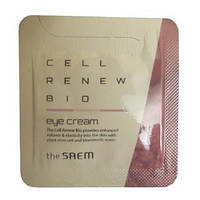 The Saem Cell Renew Bio Eye Cream Антивозрастной крем для кожи вокруг глаз
