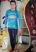 """Пижама для мальчика """"Подросток"""" №325 (брюки)"""