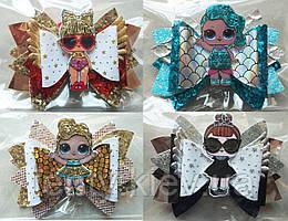 Резинки-заколки в стиле Куклы ЛОЛ/LOL