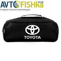 Сумка автомобільна Toyota чорна мат. (велика), фото 1