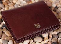 Кожаный мужской кошелек вертикальный VERUS Tokyo: 59B TK коричневый, 59A TK черный