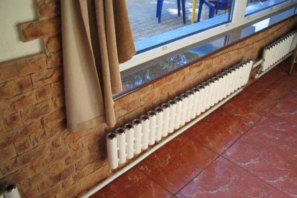 Площадь отопления для комнат