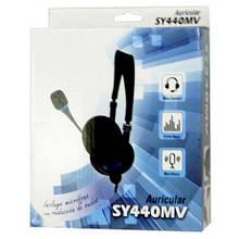 Наушники накладные с микрофоном Soyto SY440MV проводные