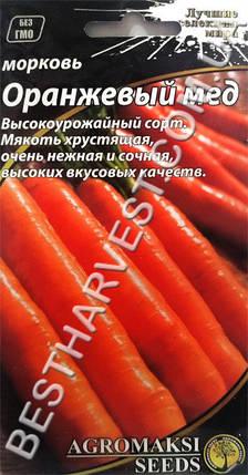 Семена моркови «Оранжевый Мед» 3 г, фото 2