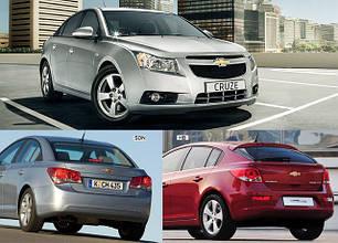 Фары передние для Chevrolet Cruze '09-