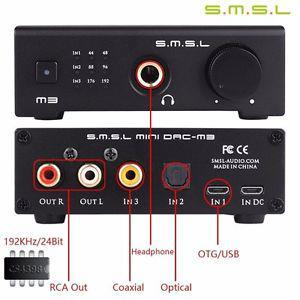 Усилители звука SMSL M3