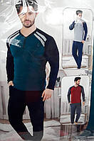 Мужская трикотажная пижама №010