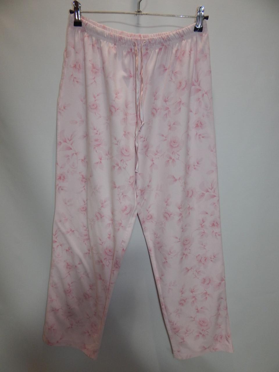 Жіночі домашні теплі штани 027GDB р. 48-50