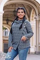 Женский пиджак батал 50-54
