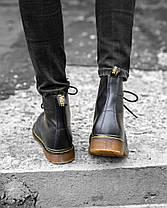 Мужские ботинки Dr.Martens 1460 Black (С мехом), фото 2