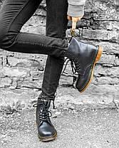 Мужские ботинки Dr.Martens 1460 Black (С мехом), фото 3