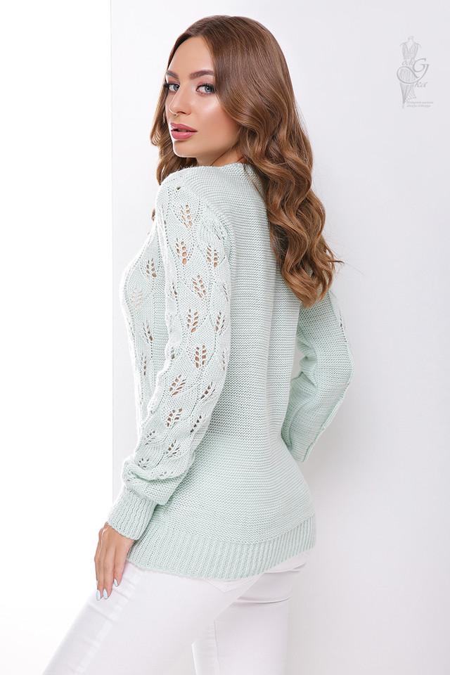 Фото-1 Вязаного женского свитера Лиза