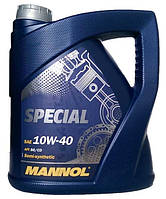 Моторное масло полусинтетика Mannol (Манол) Special 10w40 4л