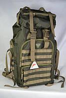 Рюкзак камуфлированный многоцелевой 65 л. олива, фото 1