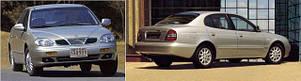Фары передние для Daewoo Leganza '97-03