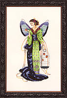 Схема Mirabilia Designs September Sapphire Fairy Сентябрьская Сапфировая Фея MD114