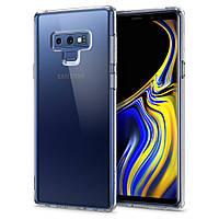 Чохол Spigen для Samsung Galaxy Note 9 Liquid Crystal, Crystal Clear (599CS24569), фото 1