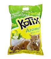 KOTIX Aroma 10л (4.3 кг) - силикагелевый наполнитель туалетов для кошек с ароматом яблока