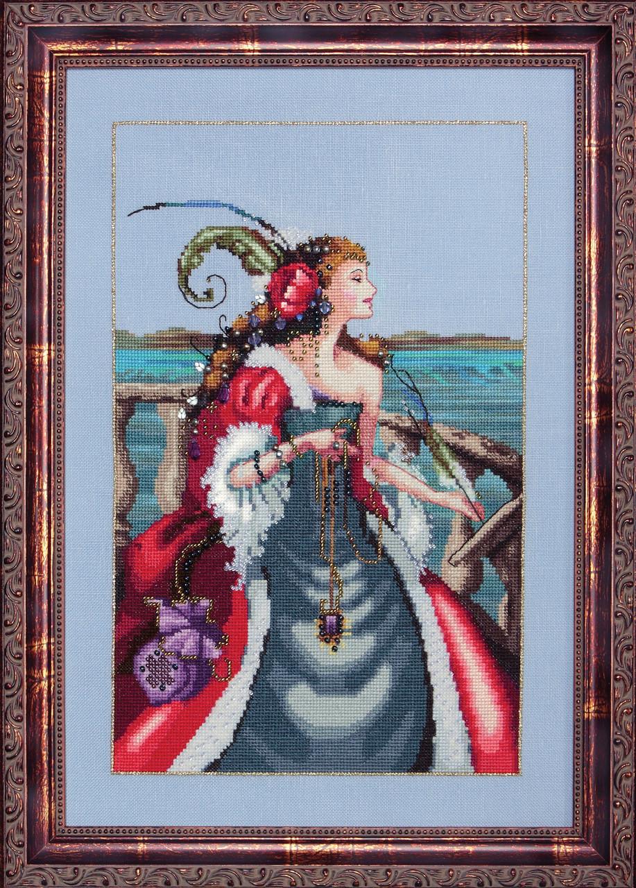 Схема Mirabilia DesignsThe Red Lady Pirate Красная Леди Пират MD113