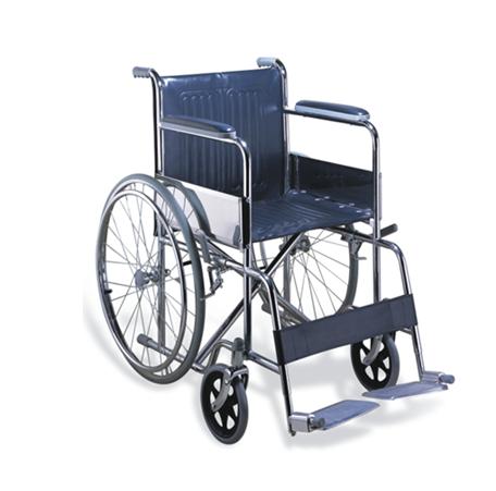 Стандартная складная инвалидная коляска (Китай), фото 2