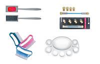 Вспомогательные материалы и аксессуары ногтевого сервиса