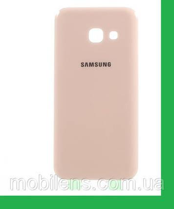 Samsung A320, A320F, Galaxy A3 (2017) Задняя крышка розовая, фото 2