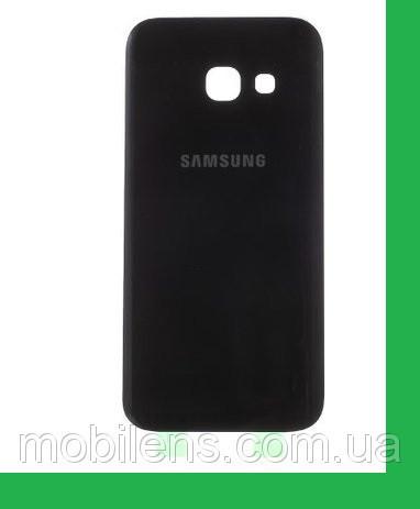 Samsung A320, A320F, Galaxy A3 (2017) Задняя крышка черная