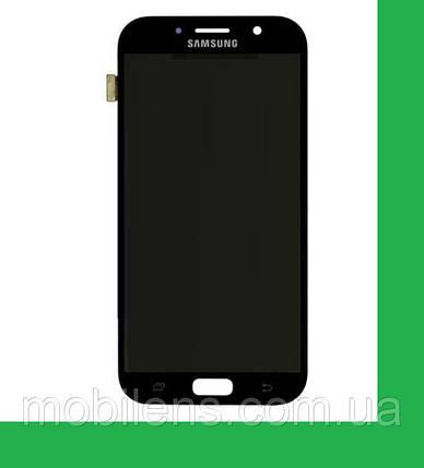 Samsung A720, A720F Galaxy A7 (2017) Дисплей+тачскрин(сенсор) черный, фото 2