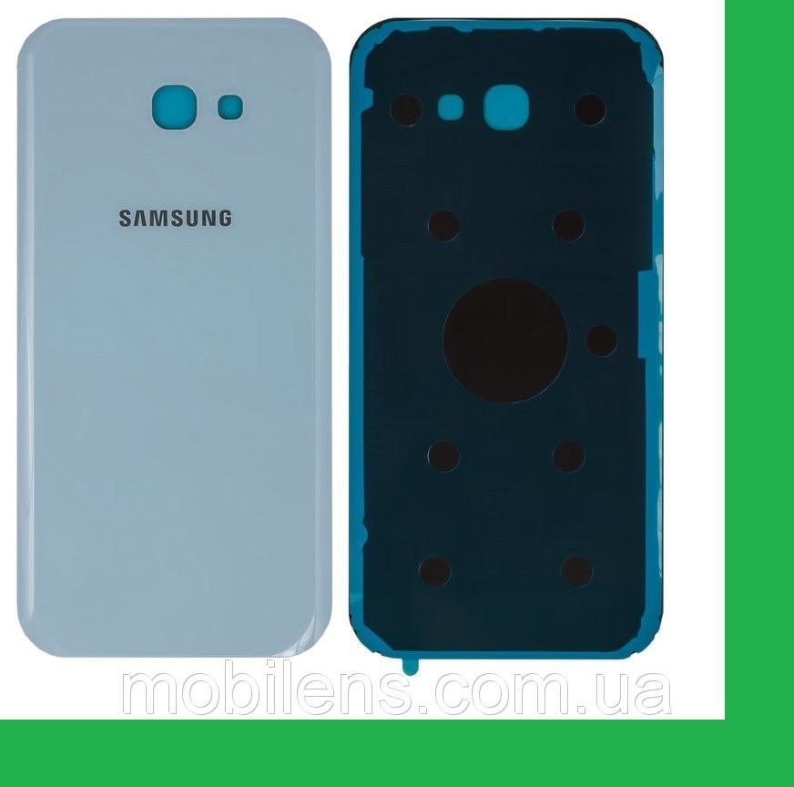 Samsung A720, A720F Galaxy A7 (2017) Задняя крышка голубая
