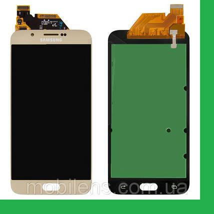 Samsung A800, A800F Dual Galaxy A8 Дисплей+тачскрин(сенсор) золотистый, фото 2