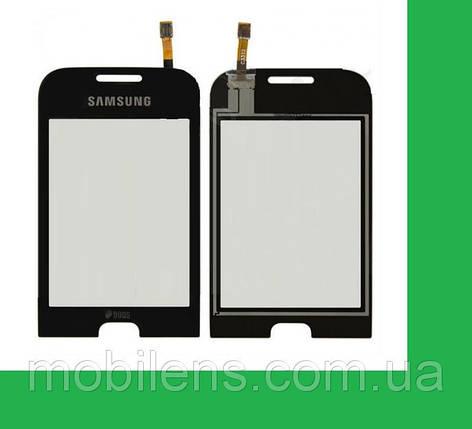 Samsung C3312 Тачскрин (сенсор) черный, фото 2