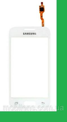 Samsung G313H, G313HD Galaxy Ace 4 Lite Тачскрин (сенсор) белый, фото 2