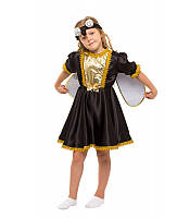 Детский карнавальный костюм МУХА ЦОКОТУХА для девочки 3,4,5,6,7,8 лет, новогодний костюм МУХИ ЦОКОТУХИ