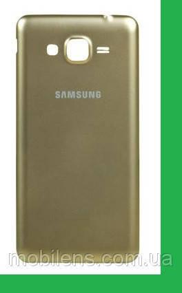Samsung G530, G530F, G530H Задняя крышка золотистая, фото 2