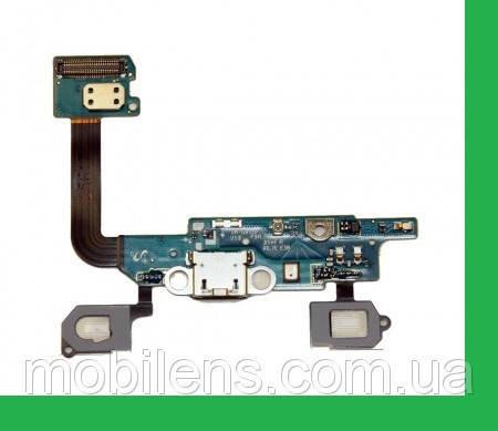 Samsung G850, G850F, Galaxy Alpha Шлейф с разъемом зарядки и микрофоном, фото 2