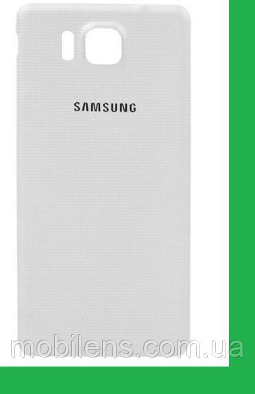 Samsung G850, G850F, Galaxy Alpha Задняя крышка белая