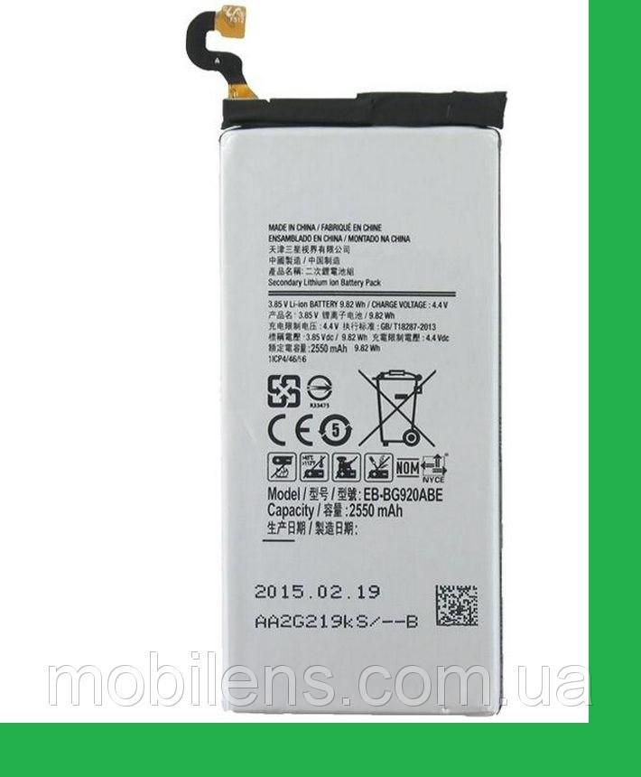 Samsung G920, G920F, Galaxy S6, EB-BG920ABE Аккумулятор