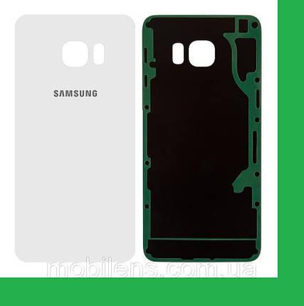 Samsung G928, G928F, Galaxy S6 Edge+ Задняя крышка белая, фото 2