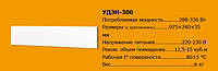 Металлокерамический обогреватель Uden-s UDEN-300