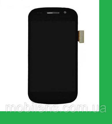Samsung i9020 Дисплей+тачскрин(сенсор) черный, фото 2