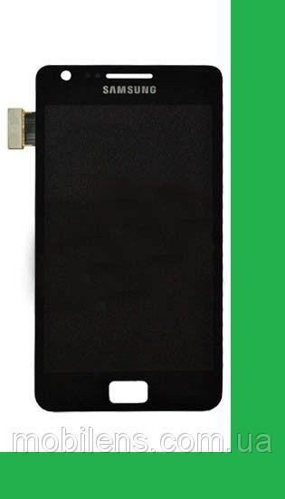 Samsung i9100, Galaxy S2 Дисплей+тачскрин(сенсор) черный