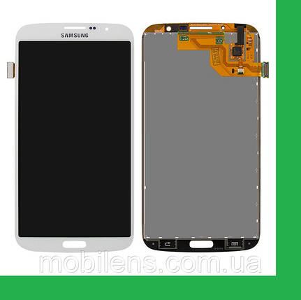 Samsung i9200, i9205, Galaxy Mega 6.3 Дисплей+тачскрин(сенсор) белый, фото 2