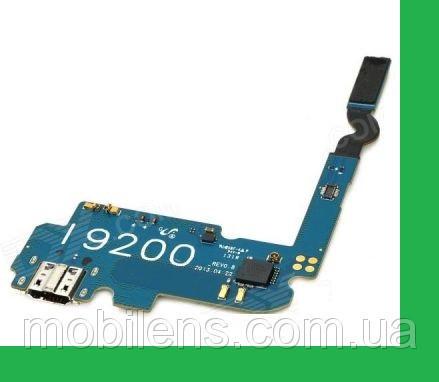 Samsung i9200, i9205, Galaxy Mega 6.3 Шлейф с разъемом зарядки и микрофоном
