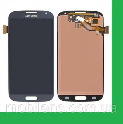 Samsung i9500, i9505,i337, i545, i9506, i9507 Galaxy S4 Дисплей+тачскрин(сенсор) темно-синий, фото 2