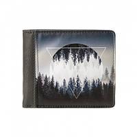 Компактный кожаный кошелек Легкий поднимающий настроение аксессуар Отличный подарок Код: КГ5958, фото 1